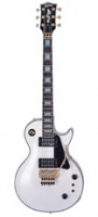 E-Gitarre BURNY RLC 105S SW FLOYD ROSE - Snow White + Sustainer