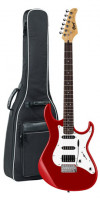 E-Gitarre CORT G220 - candy apple red