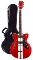 E-Gitarre DUESENBERG FULLERTON HOLLOW MIKE CAMPBELL 2 - Candy Apple Red + Custom Line Case