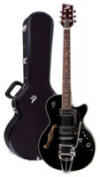 E-Gitarre DUESENBERG STARPLAYER III - BLACK + Custom Line Case