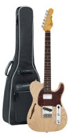 E-Gitarre G&L Tribute Asat Classic Bluesboy Semi Hollow - Blonde