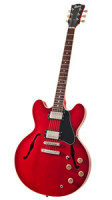 Halbresonanz Jazz-Gitarre BURNY RSA-65-CR CHERRY RED + original Koffer
