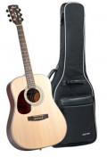 Western-Gitarre CORT EARTH 70 OP LH - Dreadnought - massive Fichtendecke - Linkshänder Version